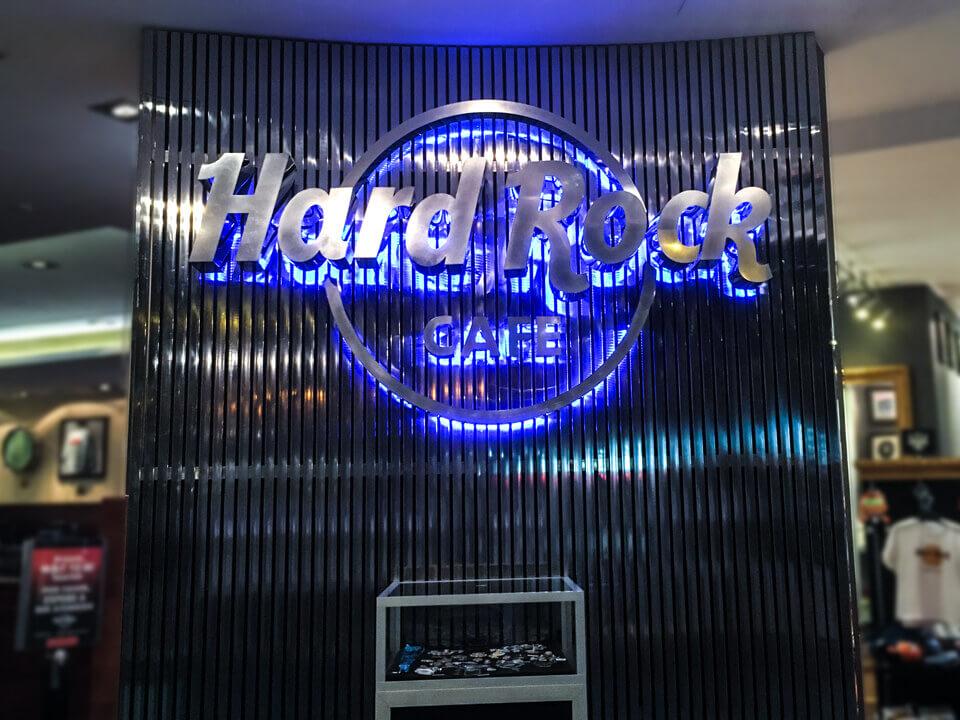 Reitunfall Hard Rock Cafe