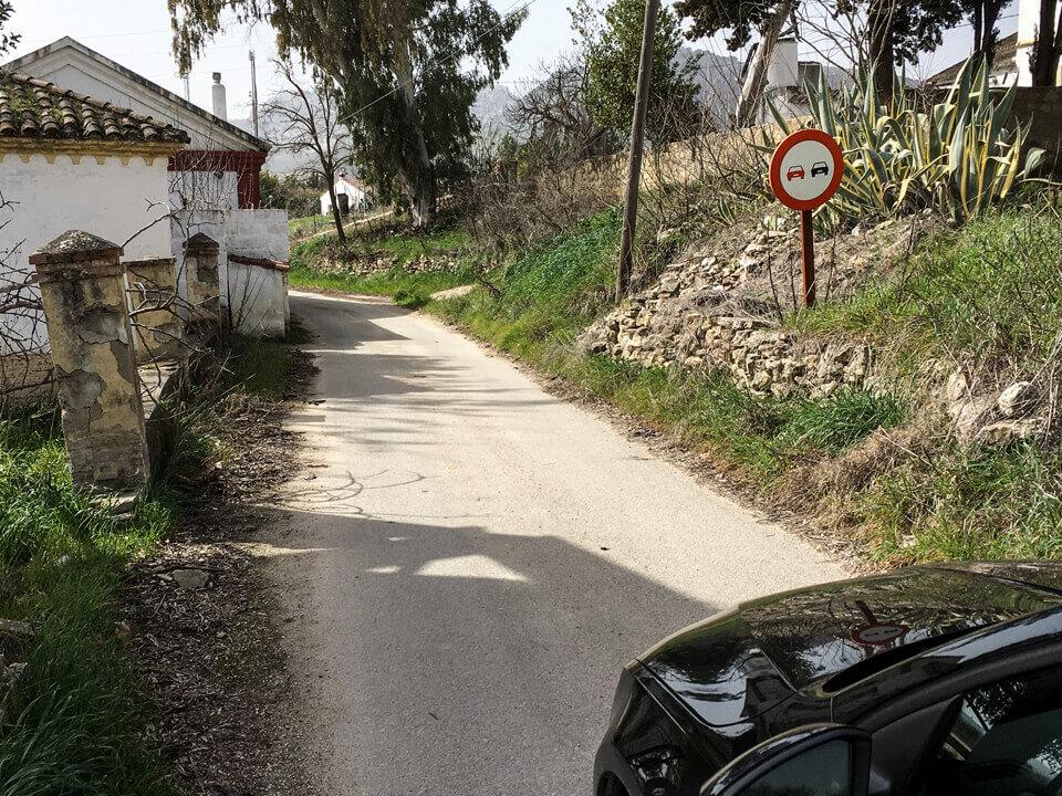Autofahren in Andalusien - Überholverbot