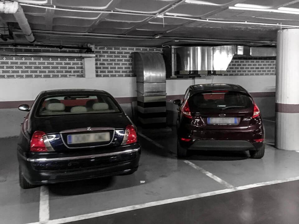 Autofahren in Andalusien- Parking