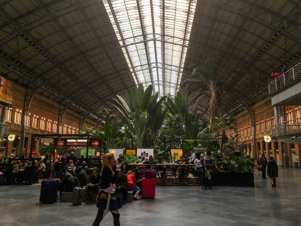 Wochenende in Madrid - Atocha